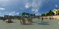休闲广场设计模型