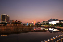 济南泉城广场夜景