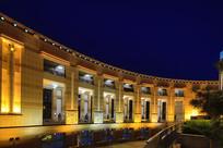 济南泉城广场建筑夜景